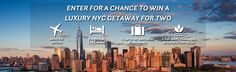 NO PURCHASE NECESSARY. Purchasing does not improve your chances of winning.Travel + LeisureLuxury NYC GetawaySweepstakes is open to residents of the 48 contiguousUnited States and D.C., age 21or older. Void in Alaska, Hawaii, Puerto Rico, outside the United States and wherever else prohibited by law. Sweepstakes begins at 9:00:00 AM ET on 9/26/16 and ends at 6:00:00 PM ET on 10/26/16.