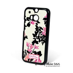 Stroke Of Midnight-Lilly Pulitzer HTC One M8 Case Cover for M9 M8 One X Case