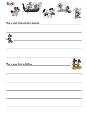 Create your own travel journal for your next Disney vacation - page 4