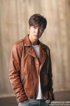 Lee Min Ho Tries Out the Bad Boy on a Motorcycle Image for New Chinese CF | A Koala's Playground