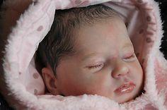 Reborn Baby Girl Doll ~ Gemma ~Artist Samantha Rose-Harker