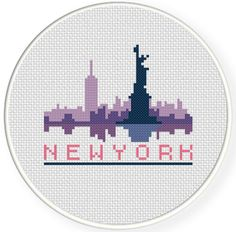 FREE New York Cross Stitch Pattern
