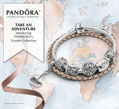 Wherever you go, take it with you! Find your souvenir traveler charms at www.PandoraMOA.com. Pandora Bracelets, Pandora Jewelry, Pandora Charms, Pandora Story, How To Feel Beautiful, Bracelet Watch, Charmed, Styling Tips, Brighton