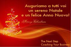 Tanti auguri di buon Natale e felice Anno Nuovo 2013
