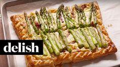 How To Make Bacon Asparagus Tart | Delish