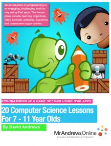Programming for Primary Schools Using iPad Apps  Coming Soon ...  Computer Science Lessons for 7 - 11 Year Olds