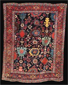 Bijar Rugs: Bidjar Persian Rug First Quarter 20th