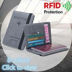 RFID Travel Multifunctional Passport Storage Bag As low as $24.00