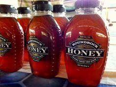 Round Rock Honey at the Dallas Farmers Market.