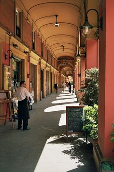 Bologna -- great historical city to visit with fantastic local cuisine!