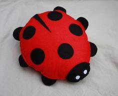 Memories of my nanan... fond memories of her ladybird cushion.
