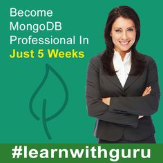 Become MongoDB Professional In Just 5 Weeks!  Register Today! Batch Starting From 13th June 2015.  For More Info, Kindly Write Us At contact@easylearning.guru Or Call Us At +91-124-4763660