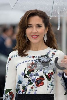 Crown Princess Mary of Denmark, attends a Gala Banquet hosted by The Government at The Opera House as part of the Celebrations of the 80th Birthdays of King Harald and Queen Sonja of Norway. on May 10, 2017 in Oslo, Norway.