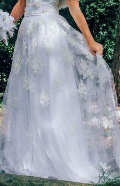 Faux fur bolero, pearl and lace hand sewn corset and lace tulle skirt wedding dress by www.chantellesophia.com   Model Samantha Shapley Emma Gates photography MUA Nina Middleton  Upton House Country Park