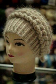 Crochet Pattern No. Crochet Beret, Crochet Beanie Pattern, Crochet Shoes, Knitted Headband, Crochet Motif, Crochet Baby, Knitted Hats, Braid Headband, Knitting Projects