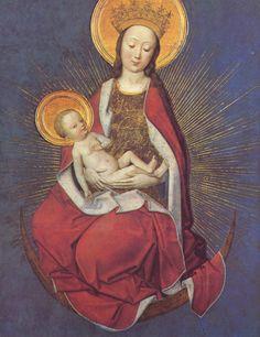 Meister des Marienlebens - Johann van Duyren 1460-1480 - German gothic art