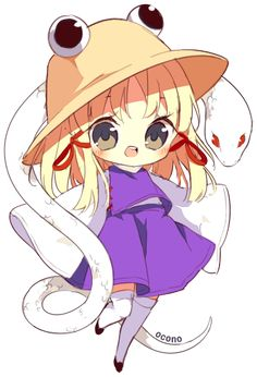Suwako chibi by ocono on DeviantArt