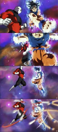 Dragon Ball Super ( Goku, Jiren )