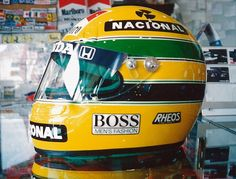 F1 Lotus, Formula One, Helmets, Grand Prix, Magic, Mens Fashion, Ayrton Senna, Auto Racing, Brazil