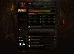 D3store Web UI by AzizNatour on DeviantArt
