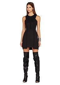 BCBGMAXAZRIA Avina Woven Dress love this with the Boots!!!!