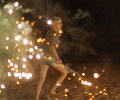 #beach #fireworks