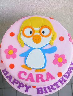 Cara's 2D pororo cake by joannefam, via Flickr