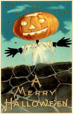 Free vintage Halloween image to use for crafts