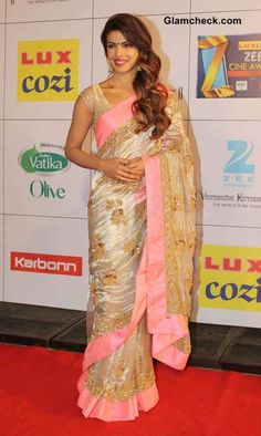 Feb 8: Priyanka Chopra @ Zee Cine Awards 2014