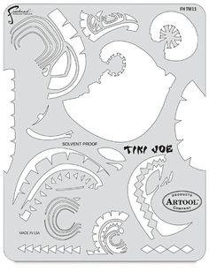 Tiki Master II Tiki Joe Template