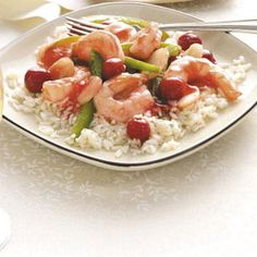 Asian Cherry Shrimp Recipe Sounds like a great appetizer!