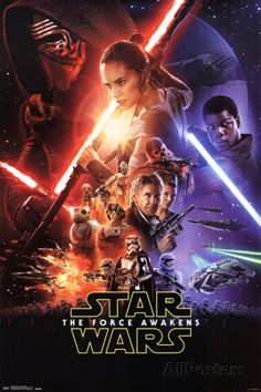 Star Wars: The Force Awakens- One Sheet Pôsters na AllPosters.com.br