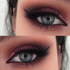 Maquiagem para os olhos com delineador gatinho Eye Makeup with Kitty Eyeliner up makeup Gorgeous Makeup, Pretty Makeup, Love Makeup, Makeup Inspo, Makeup Inspiration, Beauty Makeup, Makeup Ideas, Makeup Tips, Makeup Trends