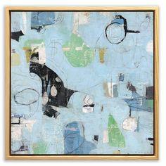 "Terry Runyan  12x12"" Mixed Media. Tonight!  One Night Stand at the Kansas City Artist's Coalition from 6-9pm. Over 150 artist, food & music. 201 Wyandotte St. Kansas City Missouri.  .. #painting #nonobjective #abstract #artshow #contemporaryart #terryrunyan"