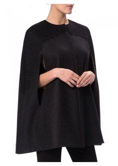 WtR London provides an effortlessly elegant draped cape