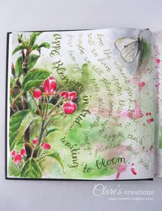 Art journal pages and scrapbook inspiration - ideas for travel journaling, art journaling, and scrapbooking. Art Journal Pages, Artist Journal, Art Journals, Travel Journals, Journal Ideas, Watercolor Journal, Watercolor Art, Watercolor Scenery, Sketchbook Inspiration