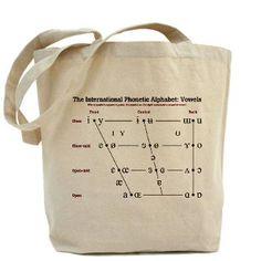 IPA Vowel Chart Tote Bag