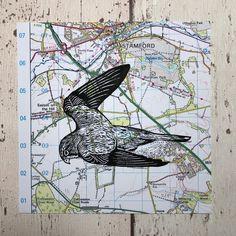 Gcse Art Sketchbook, Sketchbook Ideas, Lino Print Artists, Linocut Prints, Art Prints, Map Collage, Magazine Collage, Linoprint, Stencil Painting