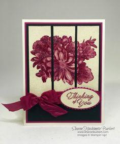 Heartfelt Blooms Glitter Panels