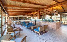 Rustic meets modern casual bar space at Santa Monica, CA restaurant Elephante. Lovely.