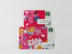 Starbucks Gift Card Japan 2016 second Sakura Cherry Blossom Pale & Mini Card