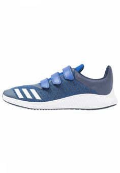FORTARUN - Neutral running shoes - collegiate royal/white/collegiate navy. upper material:textile/synthetics. shoe toecap:round. Outsole:abrasive resistant,flex grooves. shoe fastener:Velcro fastening. Qualities:breathable. Cover sole:textile. Insoles:padded. Sport:Runnin...