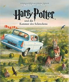 Harry Potter, Band 2: Harry Potter und die Kammer des Schreckens vierfarbig illustrierte Schmuckausgabe: Amazon.de: J.K. Rowling, Jim Kay, Klaus Fritz: Bücher
