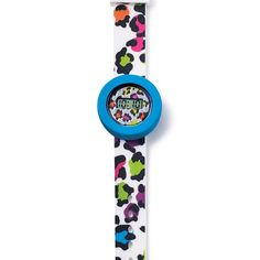"""4 watches in one! Includes 2 bezels and 2 straps, allowing you to mix up your style! Ages 6 and up. Each strap, 8"""" L. Plastic, silicone. Imported."""