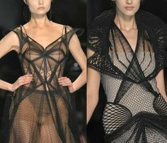 Jean Paul Gaultier's Spring 2009 couture collection.