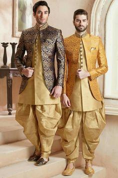 40 Top Indian Engagement Dresses for Men Engagement Dress For Groom, Groom Wedding Dress, Engagement Dresses, Wedding Outfits For Groom, Wedding Kurta For Men, Wedding Dresses Men Indian, Trendy Wedding, Mens Indian Wear, Indian Men Fashion