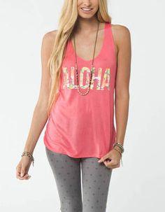 O'NEILL Aloha Womens Tank