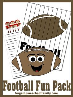 FREE FUN Football Printable Pack!