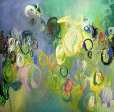 "Saatchi Art Artist Suzanne Jacquot; Painting, ""Spring in the Air"" #art"