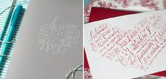Oh So Beautiful Paper: Calligraphy Inspiration: Holly Hollon